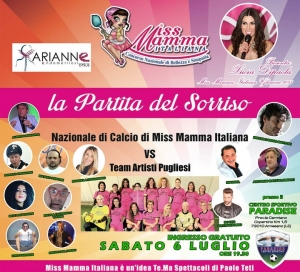 Le mamme Miss in campo per beneficenza