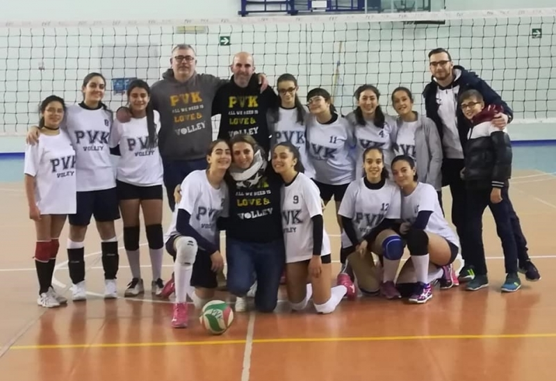 Pvk - Ve.Ra qualificata alle fasi finali under14